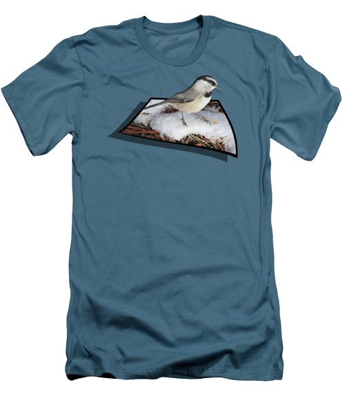 Cold Feet Men's T-Shirt (Slim Fit) by Shane Bechler
