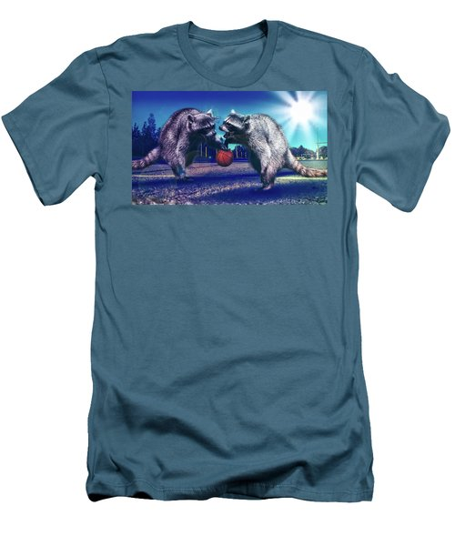 Defense Men's T-Shirt (Slim Fit) by Jonny Lindner