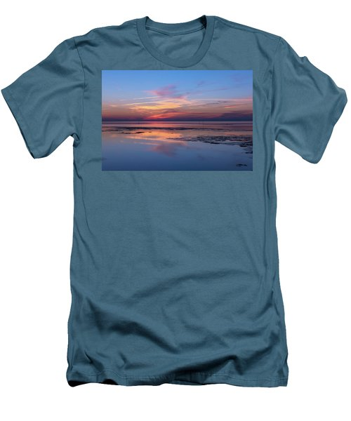 Men's T-Shirt (Slim Fit) featuring the photograph Draw The Line by Thierry Bouriat