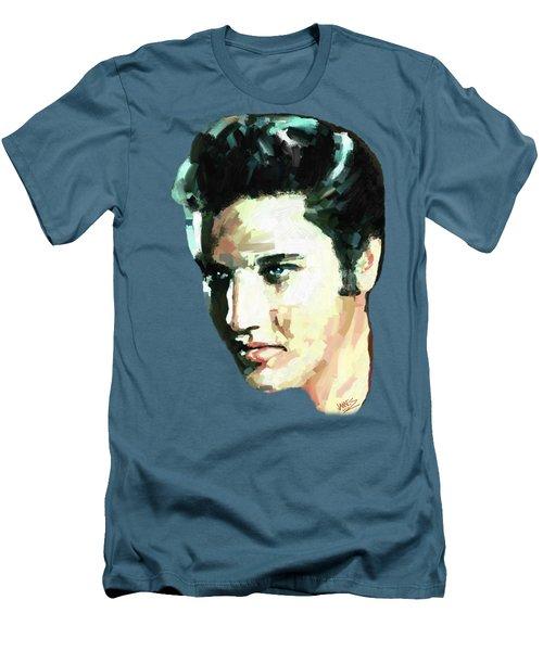 Elvis Men's T-Shirt (Slim Fit) by James Shepherd