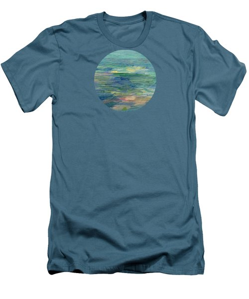 Gentle Light On The Water Men's T-Shirt (Slim Fit) by Mary Wolf