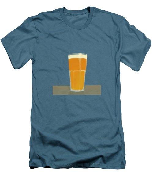 Glass Full Of.. Men's T-Shirt (Slim Fit) by Keshava Shukla