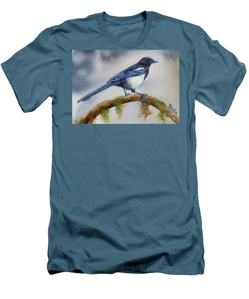 Goldigger Men's T-Shirt (Slim Fit) by Patricia Pushaw