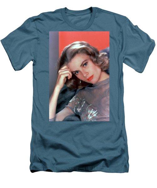 Grace Kelly Men's T-Shirt (Slim Fit) by American School