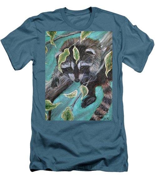 Hanging Around Men's T-Shirt (Slim Fit) by Nick Gustafson