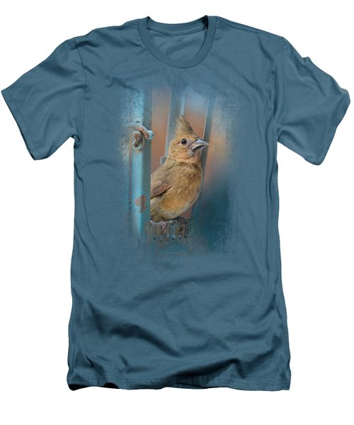 I Will Be Your Light Men's T-Shirt (Slim Fit) by Jai Johnson