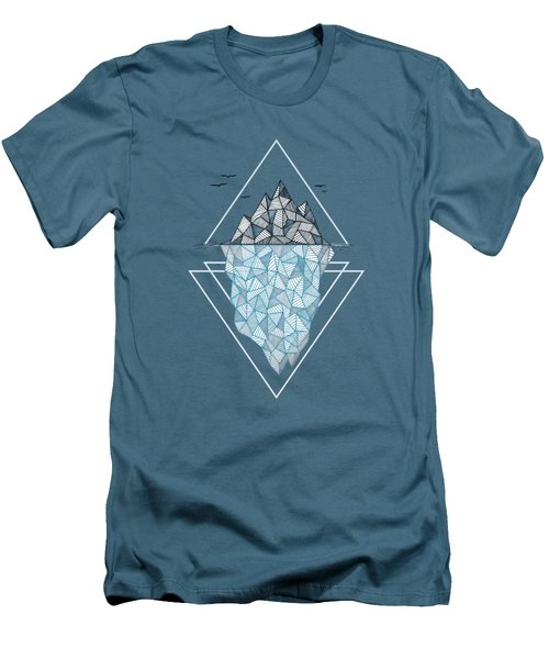 Iceberg Men's T-Shirt (Slim Fit) by Barlena