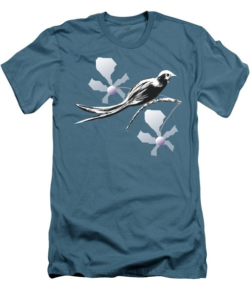 In Peace B Men's T-Shirt (Slim Fit) by Thecla Correya