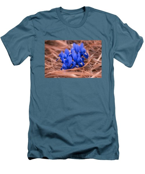 Irises Men's T-Shirt (Slim Fit) by Konstantin Sevostyanov