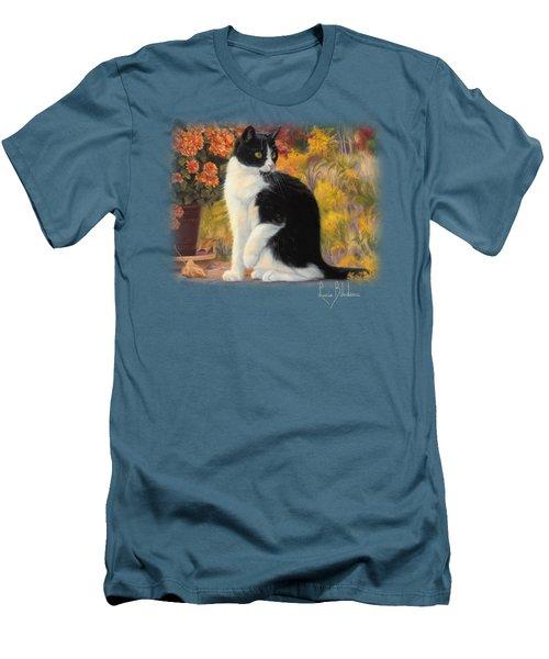 Looking Afar Men's T-Shirt (Slim Fit) by Lucie Bilodeau