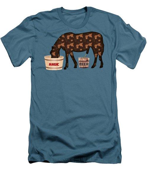 Magic Beer Men's T-Shirt (Slim Fit) by Goko Nikolovski