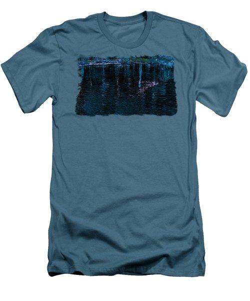 Midnight Spring Men's T-Shirt (Slim Fit) by John M Bailey