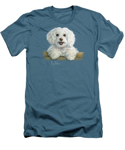 Mimi Men's T-Shirt (Slim Fit) by Lucie Bilodeau