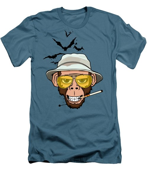 Monkey Business In Las Vegas Men's T-Shirt (Slim Fit) by Nicklas Gustafsson