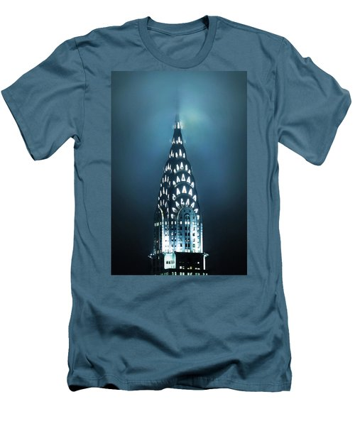 Mystical Spires Men's T-Shirt (Slim Fit) by Az Jackson