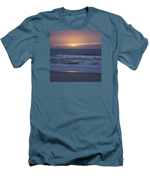 Office View Men's T-Shirt (Slim Fit) by Betsy Knapp