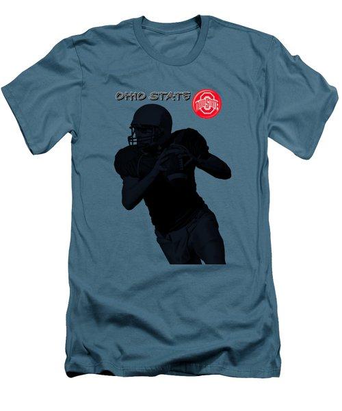 Ohio State Football Men's T-Shirt (Slim Fit) by David Dehner