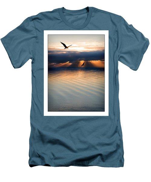Ospreys Men's T-Shirt (Slim Fit) by Mal Bray