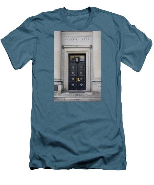 Penn State University Liberal Arts Door  Men's T-Shirt (Slim Fit) by John McGraw