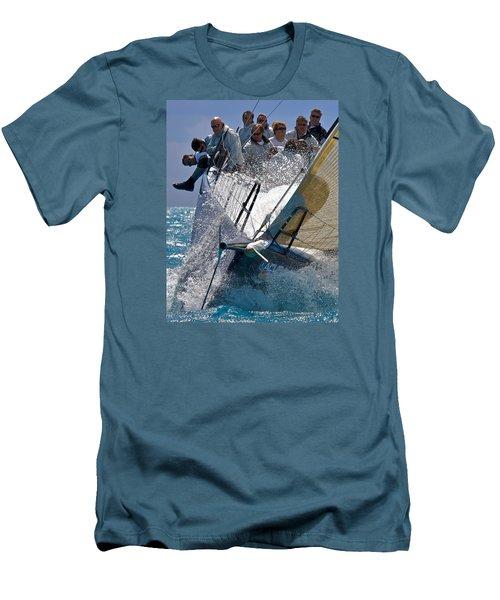 Point Men's T-Shirt (Slim Fit) by Steven Lapkin