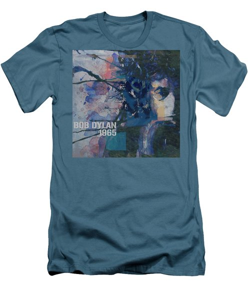 Positively 4th Street Men's T-Shirt (Slim Fit) by Paul Lovering