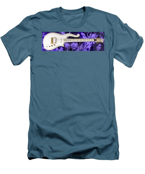 Purple Reign Men's T-Shirt (Slim Fit) by Daniel Rojas