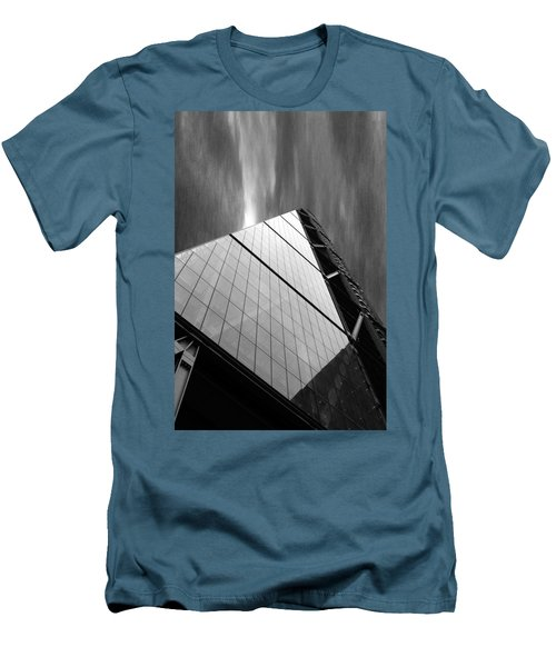 Sharp Angles Men's T-Shirt (Slim Fit) by Martin Newman