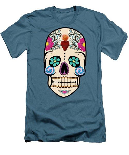 Skeleton Keyz Men's T-Shirt (Slim Fit) by LozMac