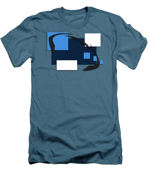 Tennessee Titans Abstract Shirt Men's T-Shirt (Slim Fit) by Joe Hamilton