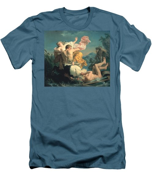 The Abduction Of Deianeira By The Centaur Nessus Men's T-Shirt (Slim Fit) by Louis Jean Francois Lagrenee