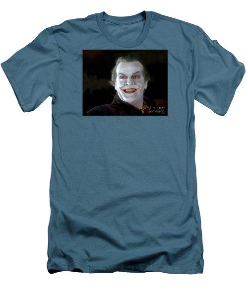 The Joker Men's T-Shirt (Slim Fit) by Paul Tagliamonte