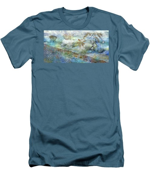 The Piano  Men's T-Shirt (Slim Fit) by Betsy Knapp