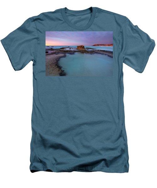 Tidepool Dawn Men's T-Shirt (Slim Fit) by Mike  Dawson