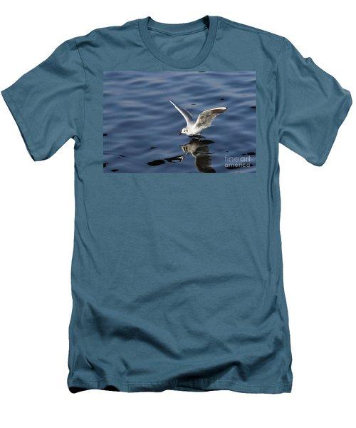 Walking On Water Men's T-Shirt (Slim Fit) by Michal Boubin