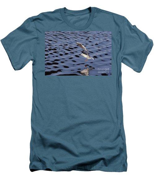 Water Alighting Men's T-Shirt (Slim Fit) by Michal Boubin