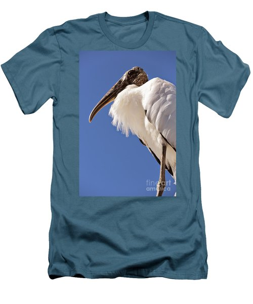 Wonderful Wood Stork Men's T-Shirt (Slim Fit) by Carol Groenen