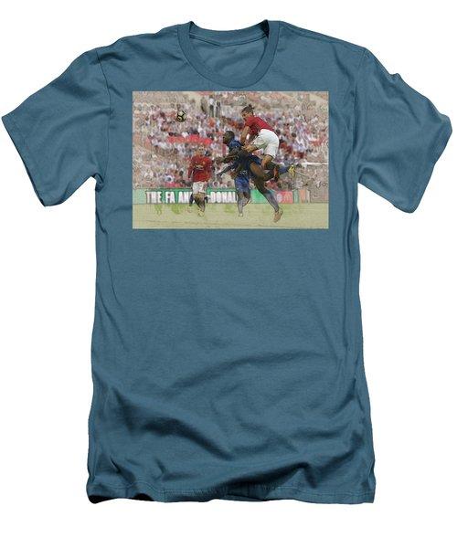 Zlatan Ibrahimovic Header Men's T-Shirt (Slim Fit) by Don Kuing