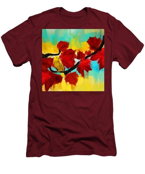 A Ponder Men's T-Shirt (Slim Fit) by Lourry Legarde