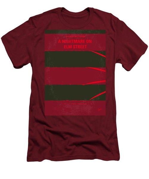 No265 My Nightmare On Elmstreet Minimal Movie Poster Men's T-Shirt (Slim Fit) by Chungkong Art
