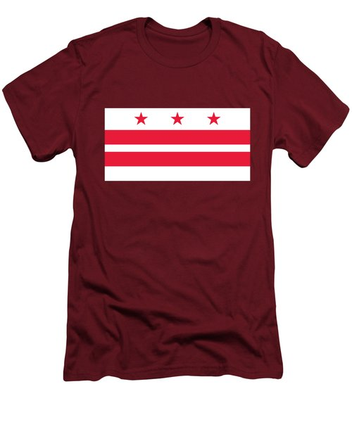 District Of Columbia Men's T-Shirt (Slim Fit) by Frederick Holiday