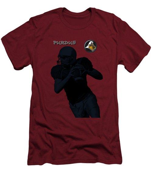 Purdue Football Men's T-Shirt (Slim Fit) by David Dehner