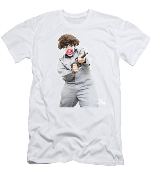 Female Psycho Killer Men's T-Shirt (Slim Fit) by Jorgo Photography - Wall Art Gallery