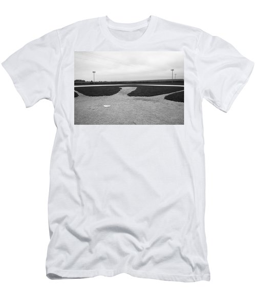 Baseball Men's T-Shirt (Slim Fit) by Frank Romeo