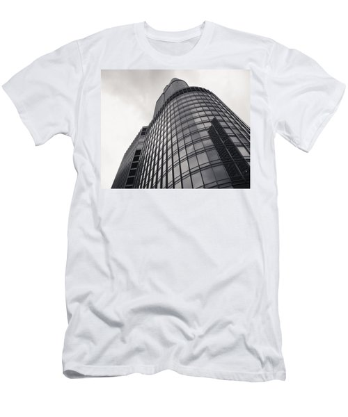 Trump Tower Chicago Men's T-Shirt (Slim Fit) by Adam Romanowicz