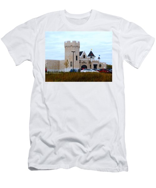 A Cheese Castle Men's T-Shirt (Slim Fit) by Kay Novy