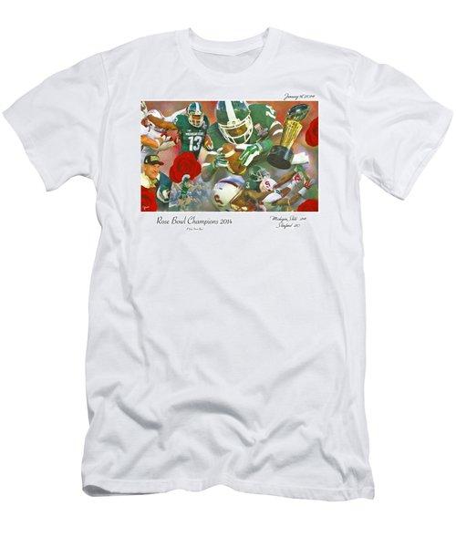 A Very Sweet Rose Men's T-Shirt (Slim Fit) by John Farr