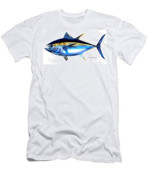 Big Eye Tuna Men's T-Shirt (Slim Fit) by Carey Chen
