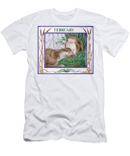 February Wc On Paper Men's T-Shirt (Slim Fit) by Catherine Bradbury