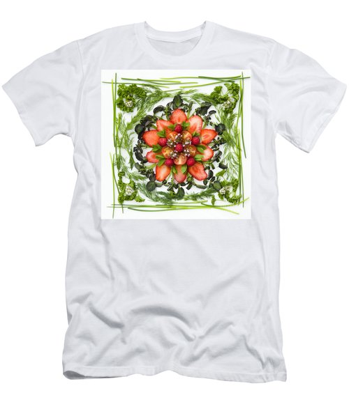 Fresh Fruit Salad Men's T-Shirt (Slim Fit) by Anne Gilbert