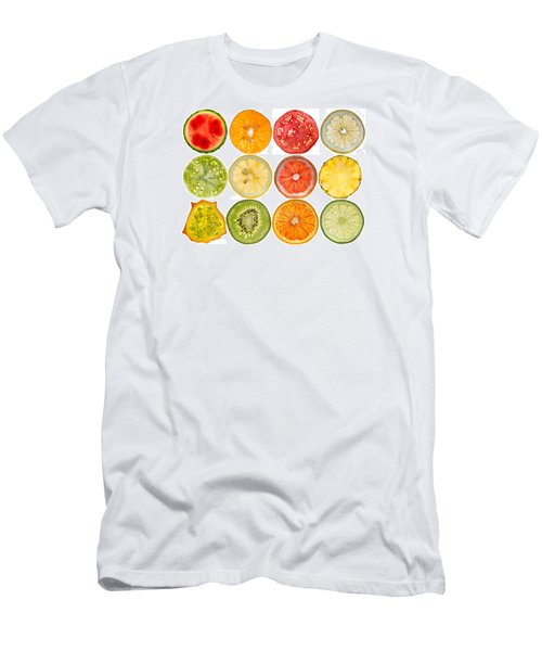 Fruit Market Men's T-Shirt (Slim Fit) by Steve Gadomski